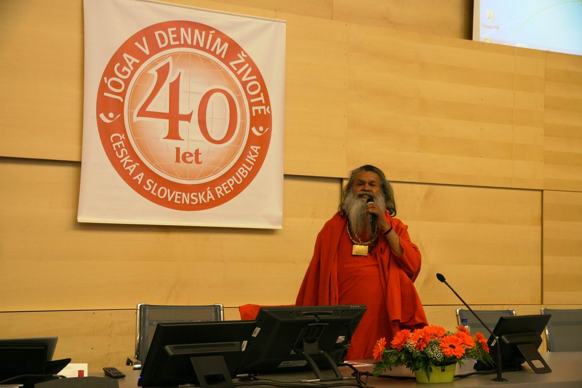 40th anniversary of Yoga in Daily Life - scientific conference in Brno,Czech Republic, March 2nd, 2013